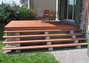 Terrasse Günstig Bauen : terrassen treppen holz selber bauen ~ Lizthompson.info Haus und Dekorationen