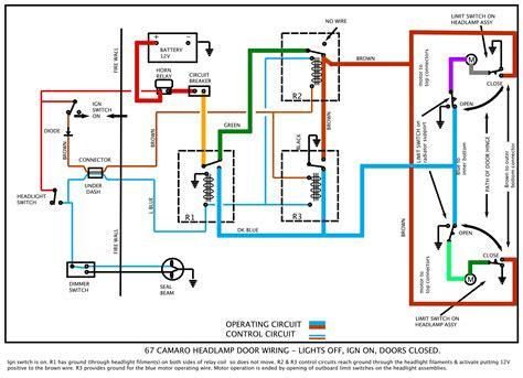 Camaro Headlight Wiring Diagram Pictures Pin