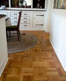 parquet flooring for a ranch house yes an quot authentic quot top of the line choice retro renovation