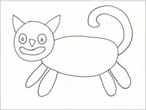 How to Draw Easy Cat Heads for Kids