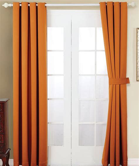 burnt orange curtains drapes best 25 burnt orange curtains ideas on