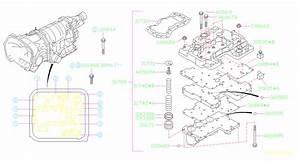 Subaru Wrx Oil Strainer Assembly-transmission  Valve  Control  Assy