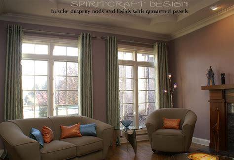 Decorative Drapery by Custom Window Treatments Drapery Valance Swags In