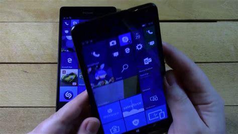 microsoft lumia 950 xl vs hp elite x3 битва гигантов