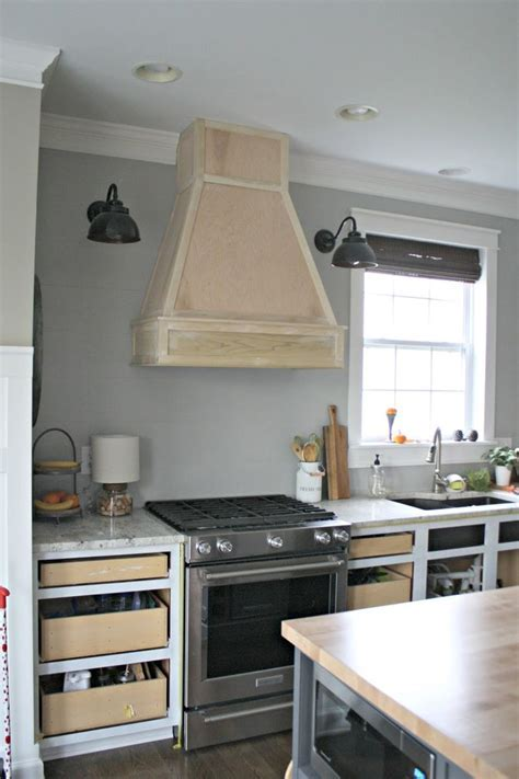 A DIY(ish) Wood Vent Hood   Vent hood, Stainless steel and