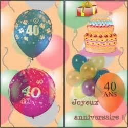quarante ans de mariage carte anniversaire quarante ans