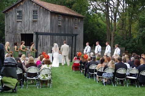 Ceremony by the animals | Cobblestone Farm Weddings ...