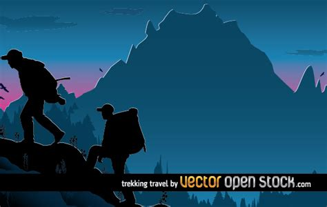 traveling wallpaper  vector art