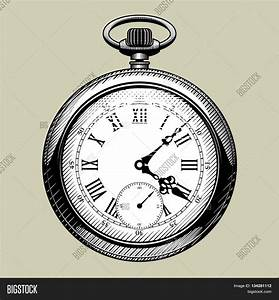 Old Pocket Watch Drawing | www.imgkid.com - The Image Kid ...