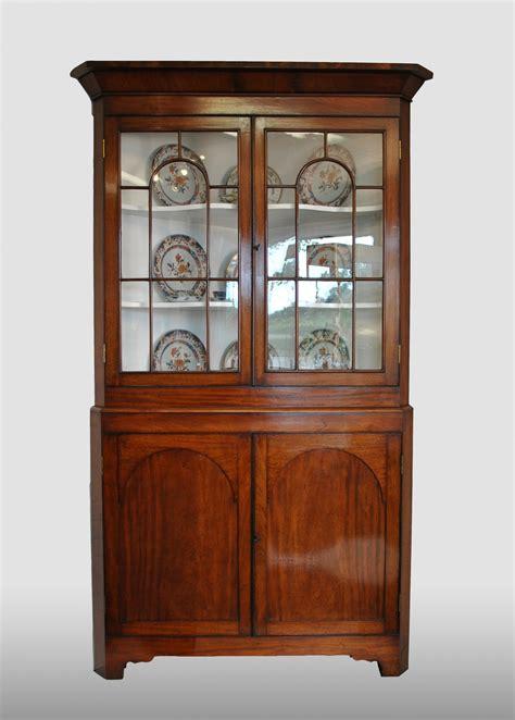 corner display cabinet corner display cabinet with the original glass in