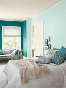 Bilder Für Das Schlafzimmer : mintgr n wandfarbe attraktive farbideen f r das ~ Lateststills.com Haus und Dekorationen