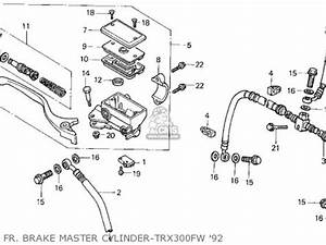honda trx300 fourtrax 300 1992 usa color tables trx300fw With honda trx 90 manual