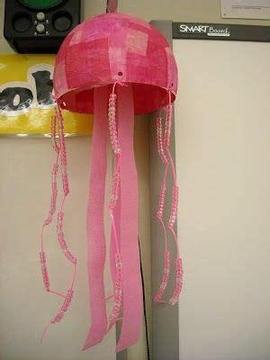 paper mache jellyfish art lessons elementary elementary