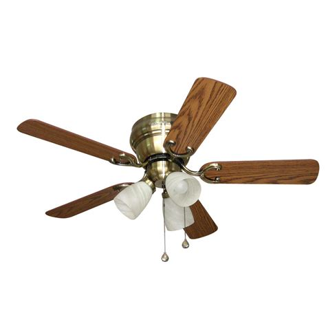 ceiling fan hardware kit shop harbor breeze cheshire ii 42 in antique brass flush