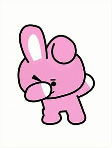 """""""Cooky Dabbing - BTS/BT21"""" Art Prints by Kpopgroups"""