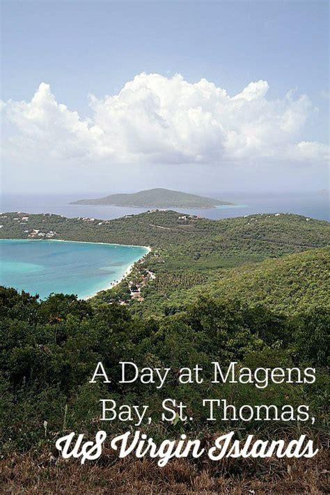 A Day At Magens Bay Beach St Thomas Us Virgin Islands