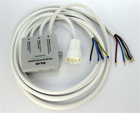 splitter für herd und kochfeld herdanschlussverteiler splitter inklusive 3 kabel mit kupplung k 252 chenmontage zubeh 246 r m 246 bel