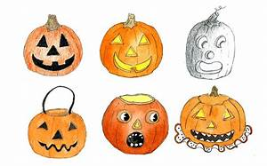 How To Draw A Jack O Lantern 30 Ways Craftsy