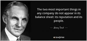 Henry Ford quot... Reputation Worth Quotes