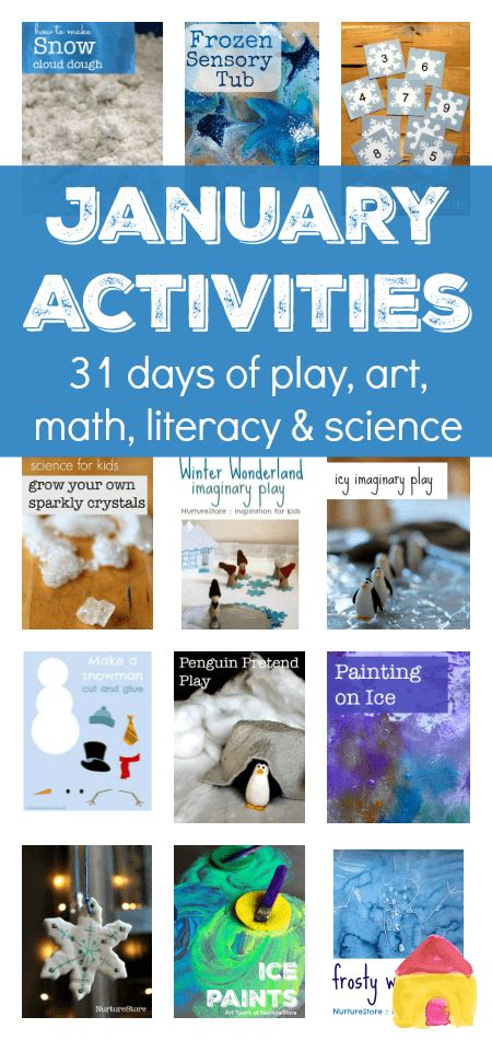 seasonal activity plans for winter things to do in 219 | seasonal activities january