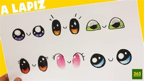 como dibujar ojos kawaii paso a paso dibujos kawaii faciles how to draw eye