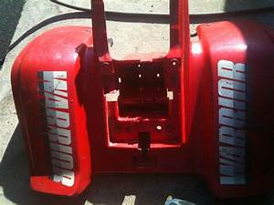 Sell 1987 Yamaha Warrior 350 Rear Fender Plastics Plastic Body 87 Atv Quad Motorcycle In Saint
