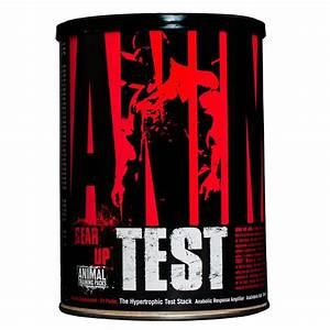 Universal Nutrition Animal Test Testosterone Booster  U2013 Pro Anabolic Hormone Supplement For