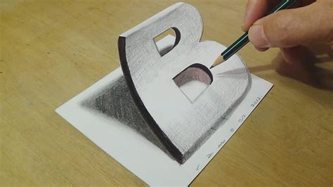 Trick Art On Paper With Graphite