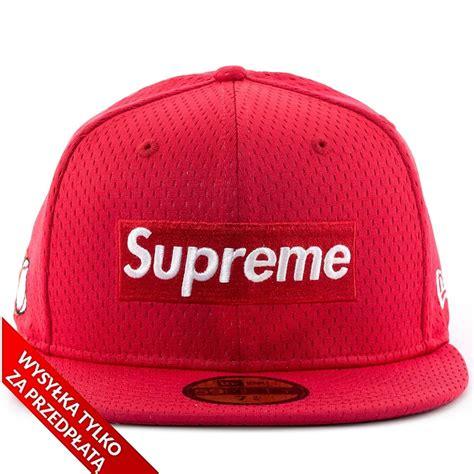 supreme cap supreme cap fitted mesh box logo new era 59fifty