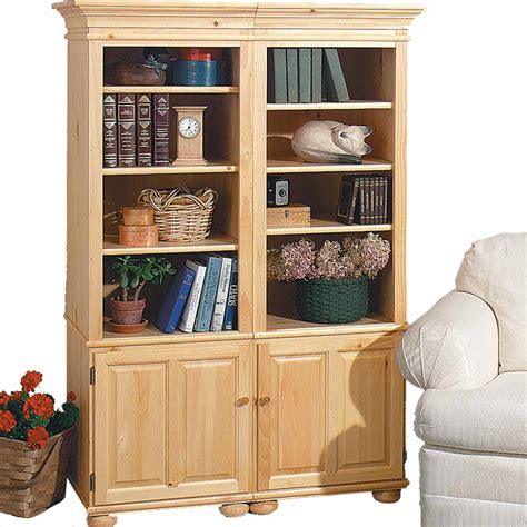 Unfinished Bookcase by Bookcase Unfinished Pine Wentworth Kit 65 Quot H