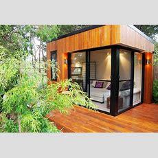 Inoutside Studio Prefabs And Outdoor Rooms