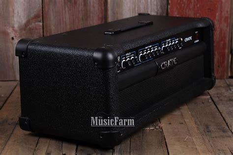 Crate Gt1200h 3 Channel Electric Guitar Amplifier Head 120