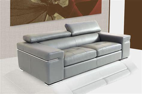 canape en cuir gris fabrique en italie sofamobili