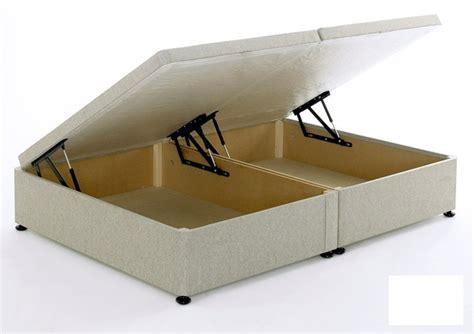 Single Ottoman Divan - regent beige 4ft small ottoman storage divan bed