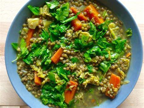 recette cuisine vegane recettes de lentilles vertes et cuisine vegane