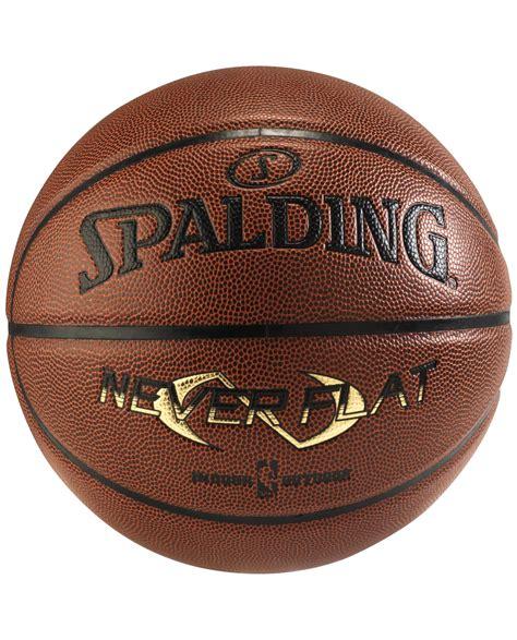 neverflat basketball spalding