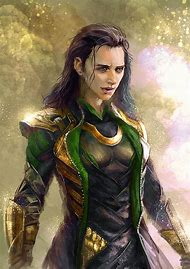 Female Loki Fan Art