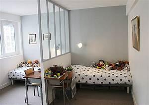Aménagement Chambre Enfant : l 39 am nagement d 39 une chambre pour deux enfants ~ Dode.kayakingforconservation.com Idées de Décoration