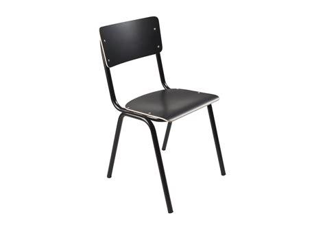 chaise zuiver chaise collège bois et acier zuiver