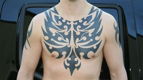 13 Striking Examples Of Chest Tattoos For Men Lifedaily