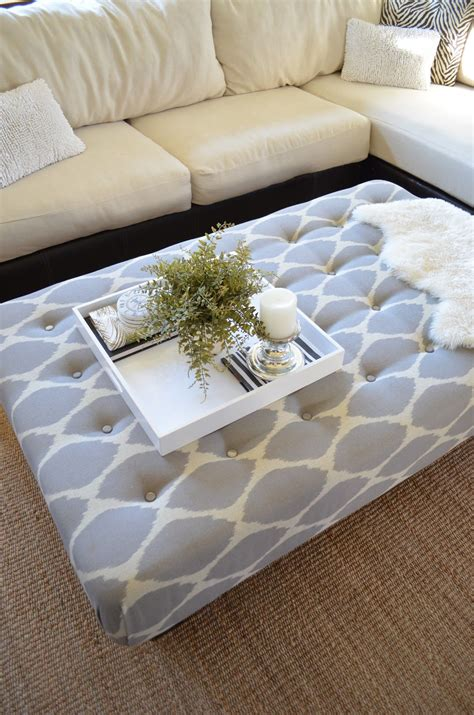 turn  coffee table   ottoman diy couch diy ottoman couch cushions