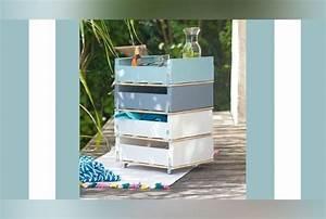 diy creer un meuble de rangement avec des cagettes With un meuble de rangement