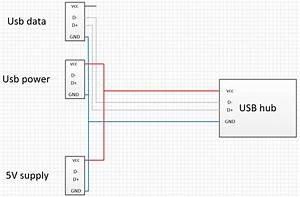 Usb Y Cable Usb Hub Wiring Diagram