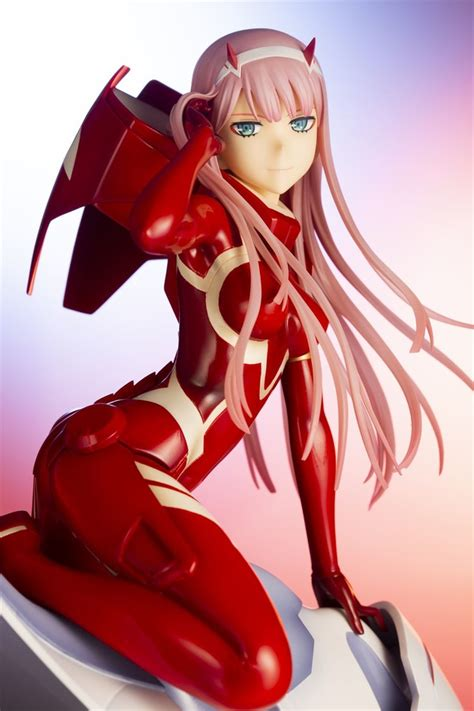 Zero Two Suits Up In Darling In The Franxx Figure