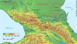 Where Is the Caucasus Mountains On Map