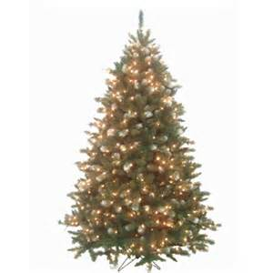 prelit artificial tree frosted mountain fir pre lit artificial tree my
