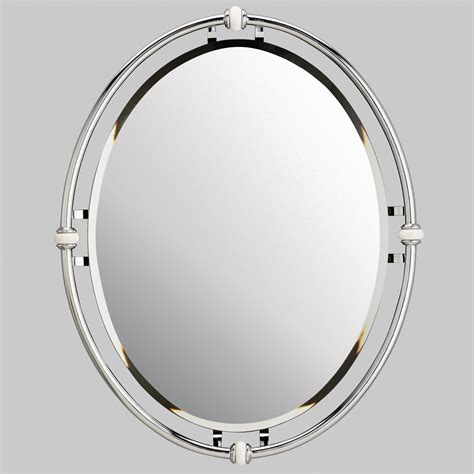 kichler oval beveled mirror reviews wayfair
