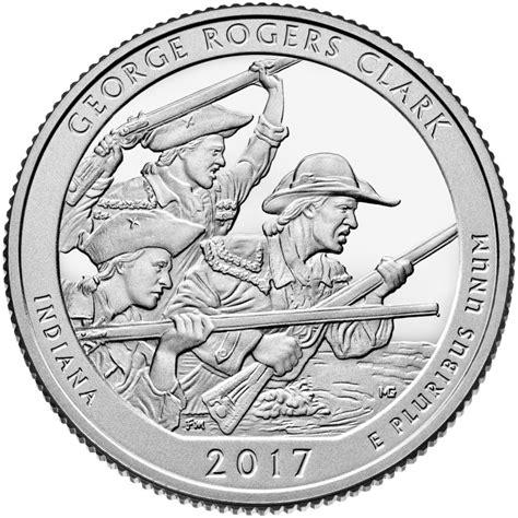 bureau de change dollar george rogers clark historical park quarter u s mint