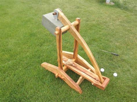 trebuchet plans  woodworking projects plans
