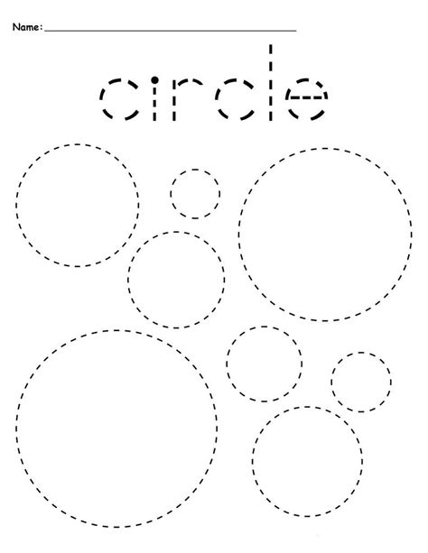 worksheet for tracing circles preschool tracing worksheets best coloring pages for kids